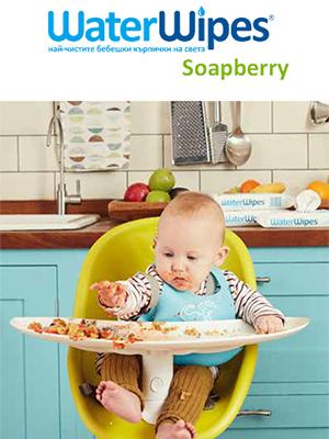 WaterWipes Soapberry Брошура